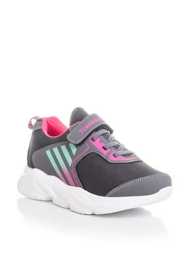 Tonny Black Füme Çocuk Spor Ayakkabı Tbz05 Füme